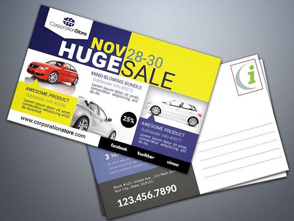 automobile dealer sample mailpiece