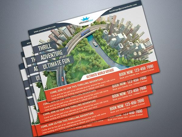 design sample postcards